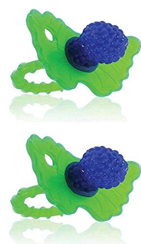 Razbaby Razberry Teether - Razberry Teether - Blue (2 Pack
