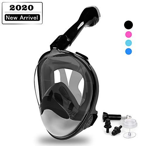DEKINMAX Full Face Snorkel Mask
