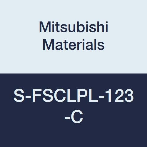 Mitsubishi Materials S-FSCLPL-123-C Screw Clamp Dimple Boring Bar with 0.375 IC Rhombic 80/° Insert Left 95/° Cutting Angle 0.750 Shank Dia. Steel Shank