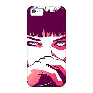Protector Cell-phone Hard Cover For Iphone 5c (Zju1727hEea) Customized Stylish Pulp Fiction Mia Pattern