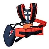 DOITOOL Trimmer Shoulder Strap Adjustable Mower Nylon Belt Universal Durable Machine Fitting Grass Double Strimmer Harness for Lawn Mower Chainsaw Brushcutter