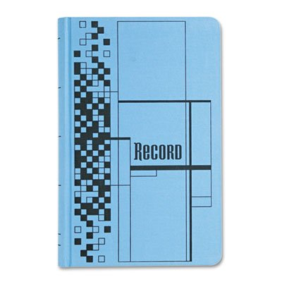 Record Ledger Book, Blue Cloth Cover, 500 7 1/2 x 12 Pages, Sold as 1 Each