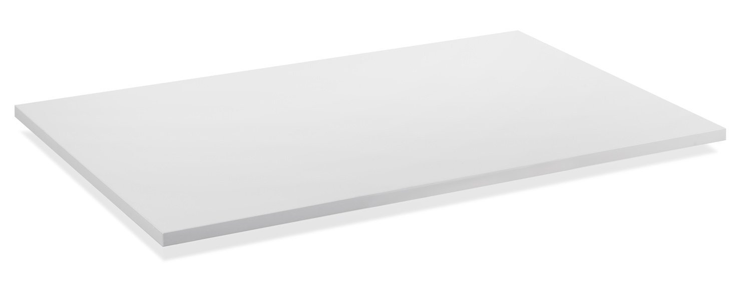 Mount-It! Desk Table Top For Standing Desks - 48 Inch Wide x 29 Inch Deep, White