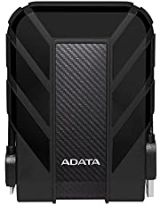 ADATA HD710 2TB USB 3.0 Waterproof/Dustproof/Shock-Resistant External Hard Drive, Black (AHD710-2TU3-CBK)