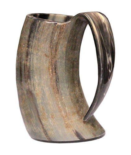 Viking Cup Drinking natural Horn Tankard Authentic Medieval Inspired drinking Mug 25oz