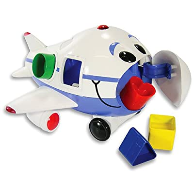 The Learning Journey Remote Control Shape Sorter, Jumbo The Jet Plane: Toys & Games