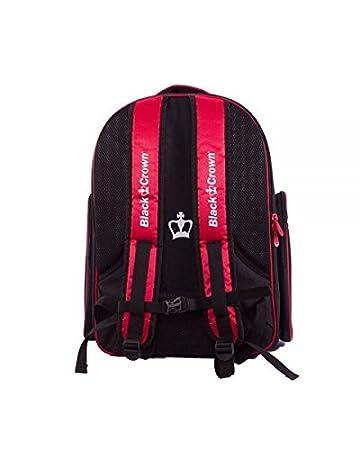 Mochila padel Black Crown Sack (Rojo): Amazon.es: Deportes y aire ...