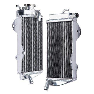 Tusk Aluminum Radiator Set - Fits: Honda CRF450R 2009-2012 by Tusk