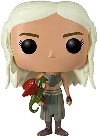 Funko - POP! Vinilo Colección Juego de tronos - Figura Daenerys Targaryen (FU3012): Funko Pop! Television:: Amazon.es: Juguetes y juegos