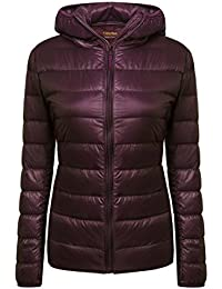 Women's Lightweight Packable Hooded Coat Outwear Puffer Down Jacket