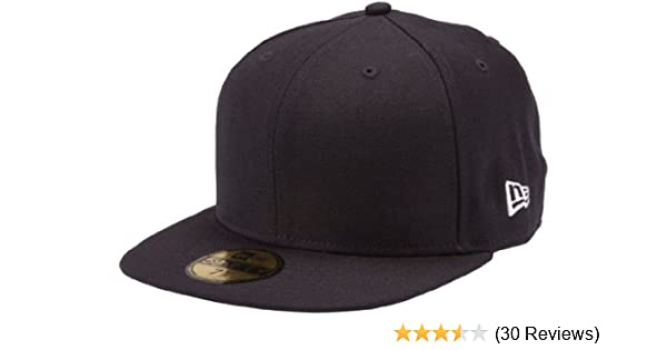 "New Plain Yellow Flat Peak Fitted Baseball Cap 7 1//2/"""