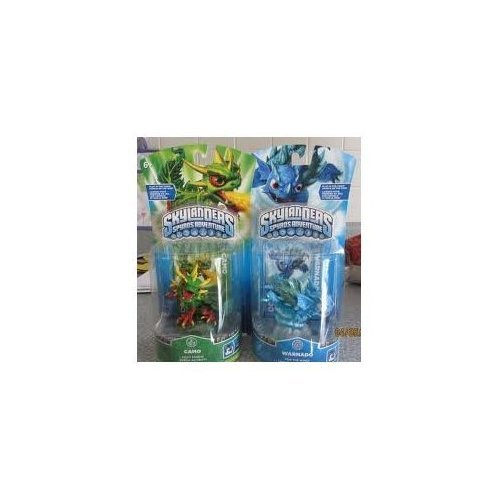Nice Activision Skylanders Single Character Pack CAMO & WARNADO SOLD BY MUSICRARITIES free shipping