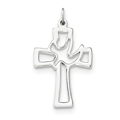 Prices for Diamond Cut Out Cross Pendant - 7