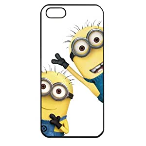 Despicable Me Minions Apple iPhone 5 TPU Soft Black or White case (Black) by mcsharks