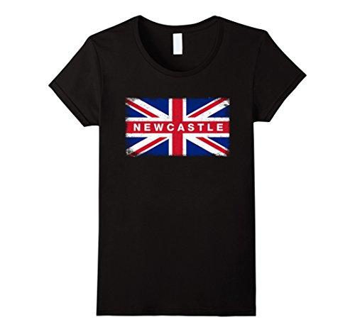 Women's Newcastle Shirt Vintage England Flag T-Shirt Smal...