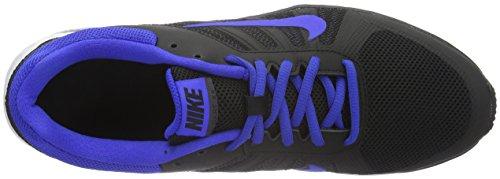 Nike Mens Dart Running Scarpa Nero / Racer Blu - Antracite