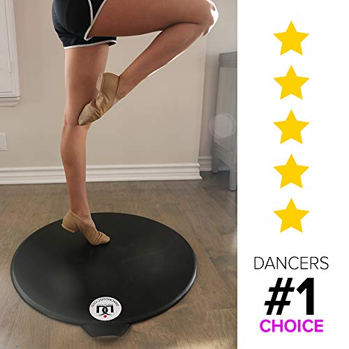 Professional Portable Dance Floor with Competition Marley for Dancer on The Go 3 Sizes 30 Inches 24 Inches 16 Inches/Premium Materials (Best Dance Shoes For Carpet)