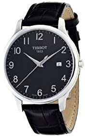 Tissot Men's TIST0636101605200 T Classic Analog Display Swiss Quartz Black Watch