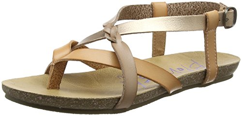 Gold Dyecut Blowfish Rose Women's Blush Fisherman Granola Blonde Sandal Pearl r0prqwz