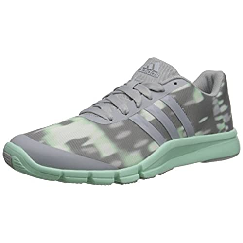 adidas Performance Women's A.T 360.2 Prima Training Shoe, Clear Onix  Grey/Cleary Onix Grey/Frozen Green, 6 M US