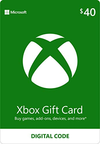 $40 Xbox Gift Card [Digital Code]