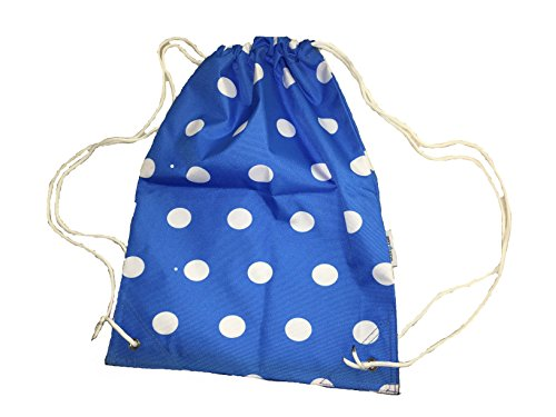Draw PE Kids String and Gymsack Dry Sport Swimming Bag Royal Spotty Spots for fpaBqpEwx