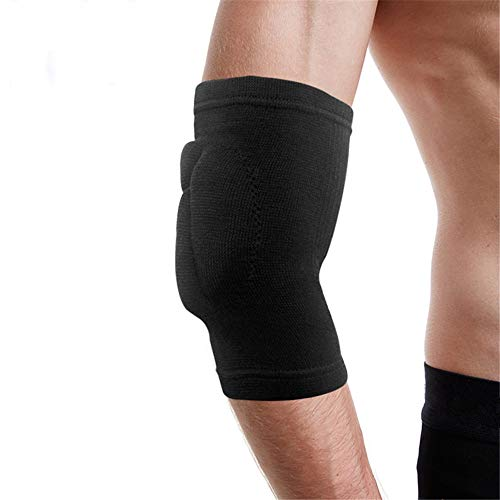 Barthylomo A Pair Sponge Elbow Support Pads Sports Protective Elbow Brace Arm Sleeves