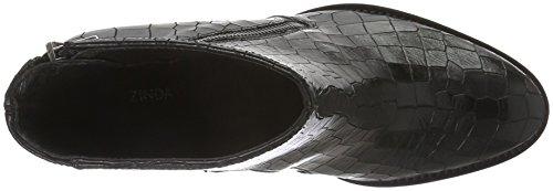 Zinda Vrouwen Van 25 Korte Schacht Laarzen Zwart (zwarte)