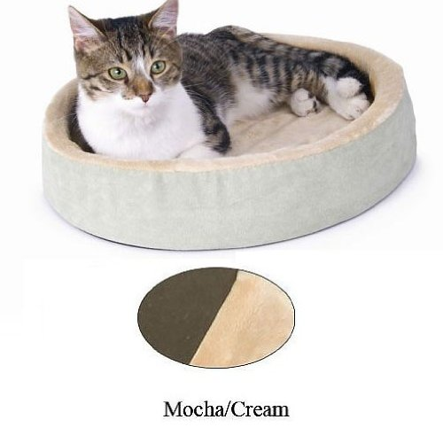 Thermo-Kitty Cuddle Up Sage 16'' x 16'' x 3'' by K&H Pet Products