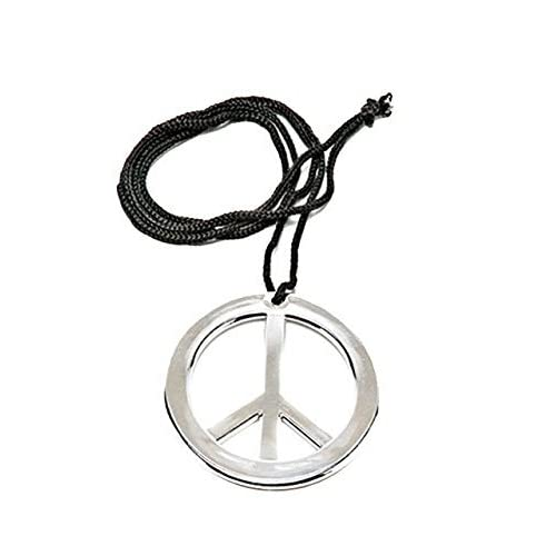 Rubies Metal Peace Necklace