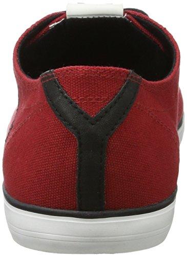 Bugatti Herren X18076 Sneaker Rot (Rot)