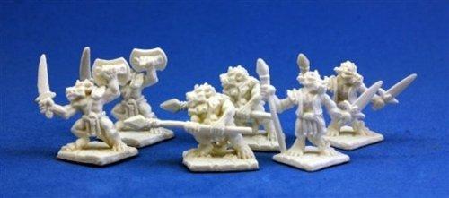 Reaper 77010: Kobolds (6) Dark Heaven Bones Miniatures from Reaper