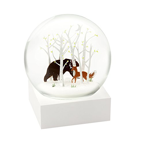 (CoolSnowGlobes Fox and Bear Cool Snow Globe)