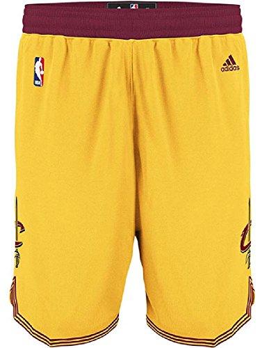 Cavaliers Swingman Shorts - adidas Cleveland Cavaliers Gold Youth Swingman Baskeball Shorts By (XL=18-20)