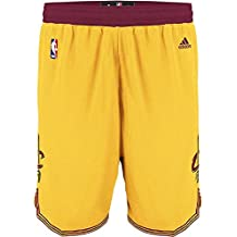 Cleveland Cavaliers Gold Youth Swingman Baskeball Shorts By Adidas