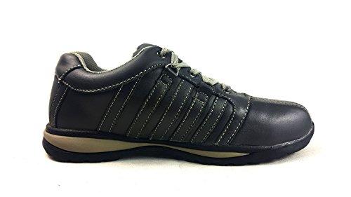 8 de Gris de 42 para Gris deporte zapatos EUR con UK acero HIKER Gorra de hombre Starex talla inoxidable tobillo zapatillas para a5qxURwznC