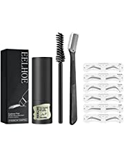 Wenkbrauwmake-upset Wenkbrauwmake-upset Wenkbrauwstempel One Step Brow Stamp Shaping Kit Herbruikbare wenkbrauwset Set Wenkbrauwstempel Wenkbrauwstempel Brow Powder Brown For Women