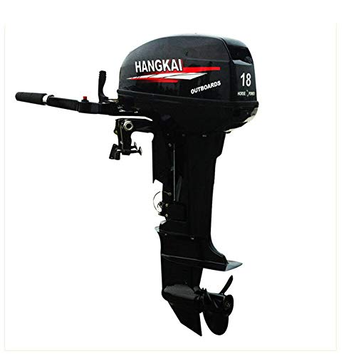 - US DELIVER Outboard Motor 2-Stroke 18HP 246CC Boat Engine Water Cooling CDI System-Trolling Motor Lnflatable Fishing