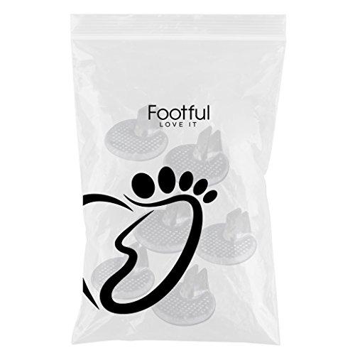 MagiDeal 3 Pares de Flip Flop de Plantillas de Zapatos Sandalias Cojines Protectores de Dedos de Pie Buena Calidad de Gel de Silicona