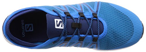 Salomon Men's Crossamphibian Swift Athletic Sandal, Cloisonne/Blue Depths/White, D(M) US Multicolour (Cloisonné/Blue Depth/White 000)
