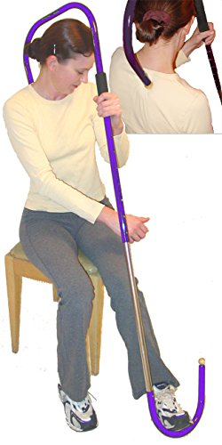 Pressure Pointer - Foot Powered Thera Cane Self Massage Trigger Point Therapy, Neck Massger, Shoulder Massger, Tool