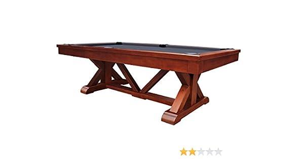 PLAYCRAFT brazos Río 8 pizarra mesa de billar, marrón: Amazon.es: Deportes y aire libre