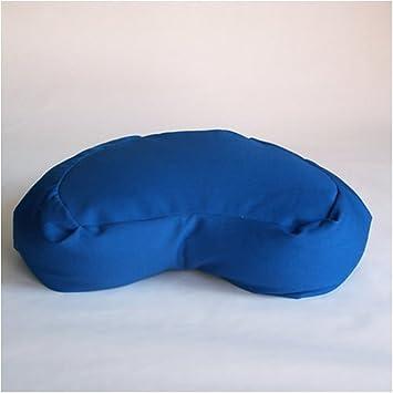 Amazon.com: Cojín de meditación zafu; Halfmoon, (Royal Azul ...