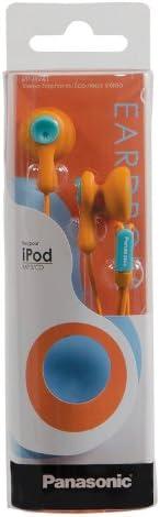2020 New Panasonic RP-HV41-G Eardrops Stereo Earbud Style Earphones, Light Green/Yellow (Discontinued by Manufacturer) Orange/Light Blue krzDFRl