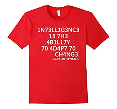 Intelligence Is The Ability T-shirt Science March Funny