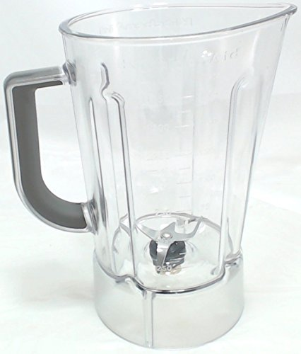 OKSLO 56 Oz Plastic Blender Jar Assembly for KitchenAid, AP5804640, WPW10555711