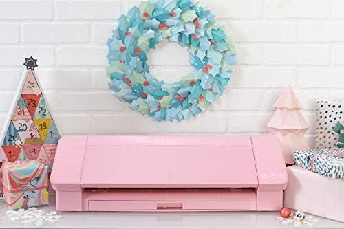 Silhouette Cameo 4 AutoBlade - Alfombrilla de Corte, Color Rosa ...