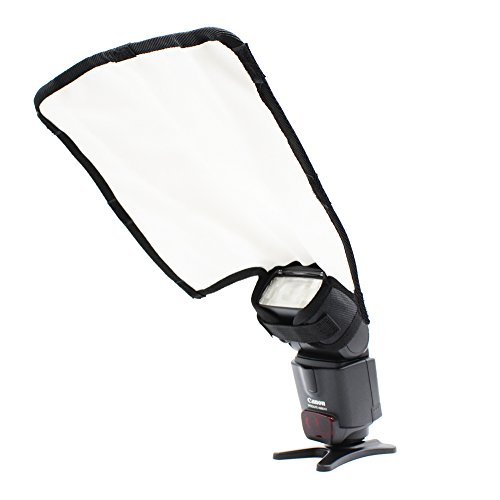 PhotoTrust Flashblender flexible fits for Canon Nikon Sony Pentax Fujiflim Olympus Panasonic and all cameras reflector Bounce Flash, Snoot, Gobo, Diffuser