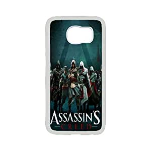 Custom Assassin's Creed Protective Phone Case For Samsung Galaxy S6 High Quality PC Cover CASE-6