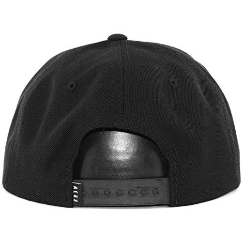 KR3W Mens Bracket Snap Adjustable Hat/Cap, Black, One Size